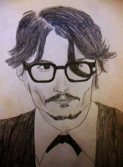 Johnny Depp by After-Death